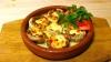 Грибы  с сыром на кеци 150 гр.